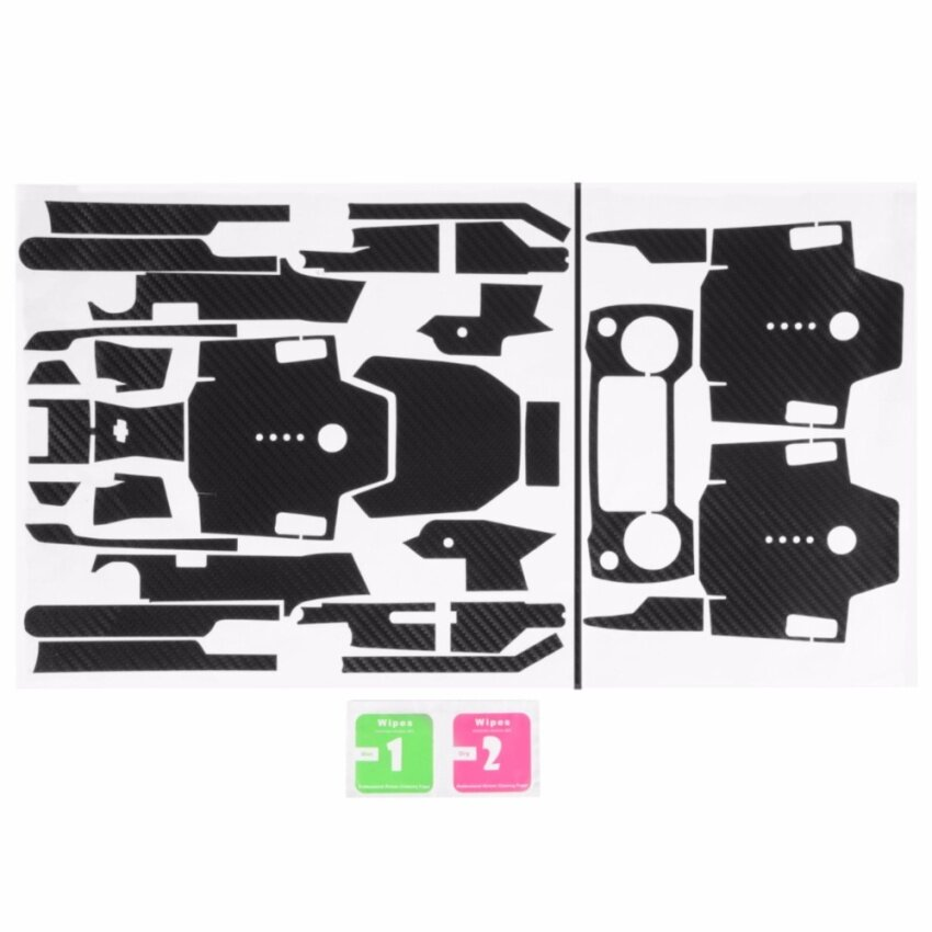 Carbon Fiber Skin Wrap Waterproof Sticker For DJI Mavic Pro Remote Control RC539