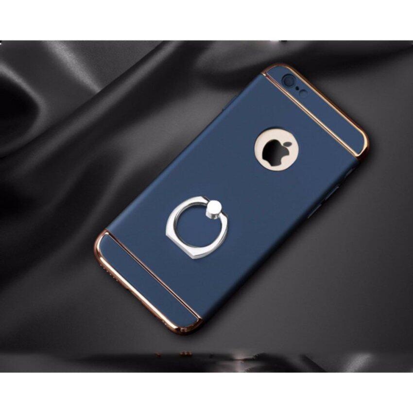 Case Apple iPhone 7plus/5.5 เคสกันกระแทก เนื้อวัสดุ Polycarbonate (สีดำ,ทอง,ทองชมพู,น้ำเ ...