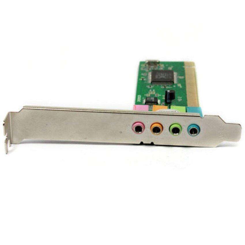 Channel 5.1 Surround 3D PCI Sound Audio Card For Desktop Computer ...