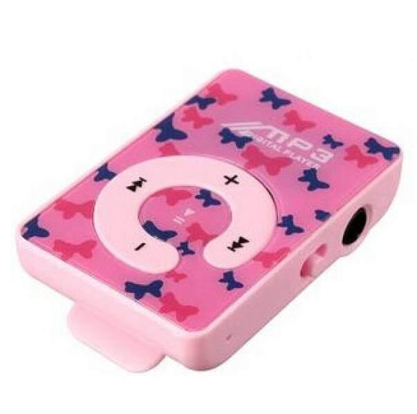 coconie Mini USB Clip Digital Mp3 Music Player Support 8GB SD TF Card - intl