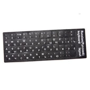 Computer Keyboard Layout Stickers