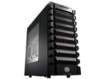 Cooler Master Mid Tower K550 120mm Red LED fan x 1,120mm fan x 1,USB3.0 x 1 (RC-K550-KWN1)
