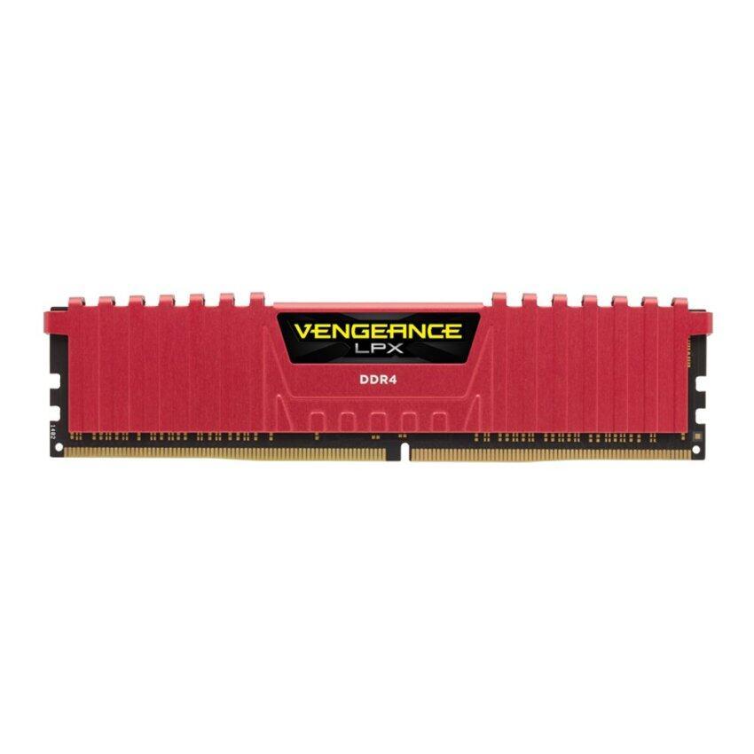 ขาย Corsair Ram PC DDR4 8G/2400 Vengeance LPX C14 (Red)