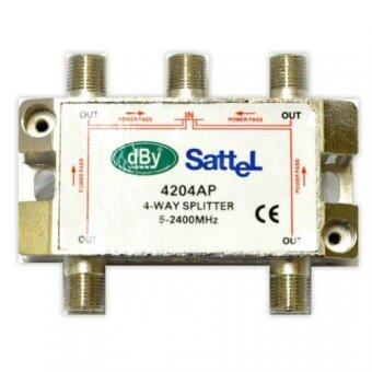 dBy Satellite Splitter All Pass 4 wayรุ่น 4204 AP dBy