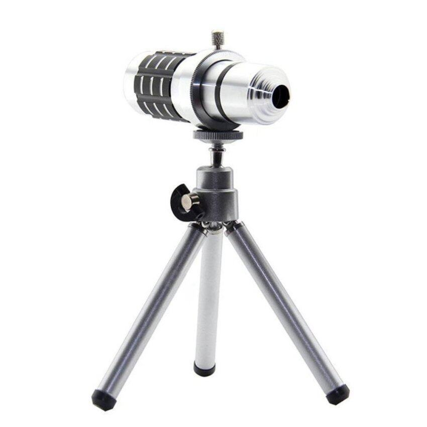 Deerway Aluminium 12x Optical Zoom Telescope Camera lens with Mini Tripod for NOKIA Lumia 920