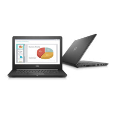 "Dell Notebook Vostro3468 14"" i3-7100U 4G 1TB W10P (Black)"