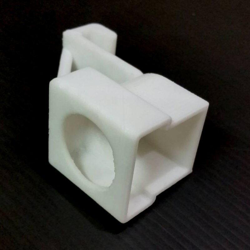 DJI Phantom 2 Vision + Camera Gimbal Lock (3D Print) - White