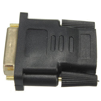 DVI-I 24+5 Pin Male to HDMI Female Adapter Connector for LCD HDTV LED Projector