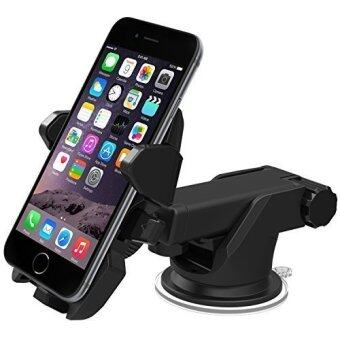 Easy One Touch 2 Car Mount Holder for iPhone 6(4.7) Plus(5.5) 5s 5c, Samsung Galaxy S6 Edge Plus S5 S4, Note 5 4 3, Google Nexus 5 4, LG G4