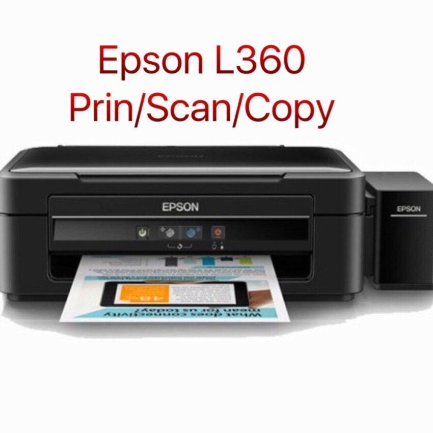 Epson L360 print/copy/scan (เครื่องเปล่า แถมหมึก ชนิดพรีเมี่ยม)