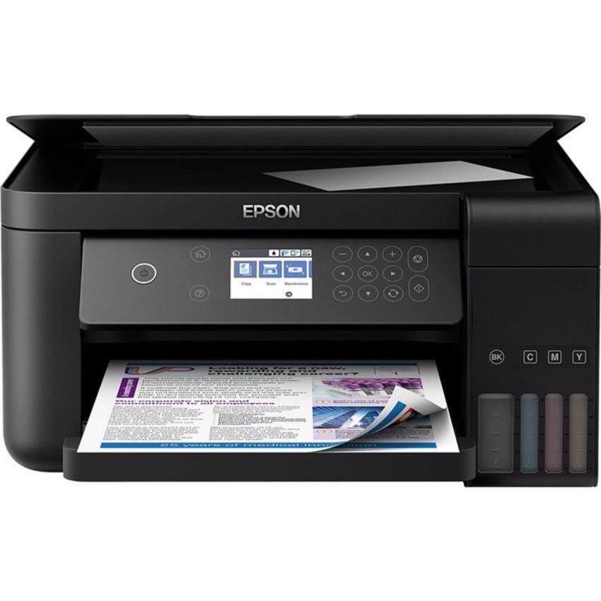 เครื่องพิมพ์อิงค์เจ็ท Epson L6160 All in one,Wi-Fi,Duplex,Ethernet แถมหมึกพร้อมใช้งาน