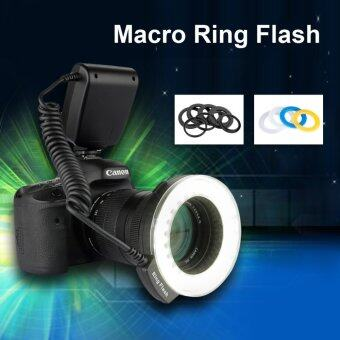 Excelvan CN48 LED Ring Flash Light With Four Diffusers