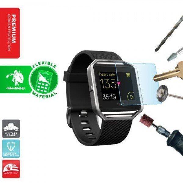 Fitbit Blaze Tempered Glass Screen Protector กระจกนิรภัยป้องกันรอยขีดข่วน ...