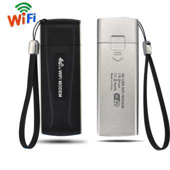 FLORA Pocket 4G FDD LTE EVDO Wi-Fi Router Hotspot USB WIFI Modem Wireless Router (Black) - intl