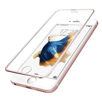 For iphone 6s Plus 3D Premium Screen Protector Tempered Glass Protective Film RG - intl