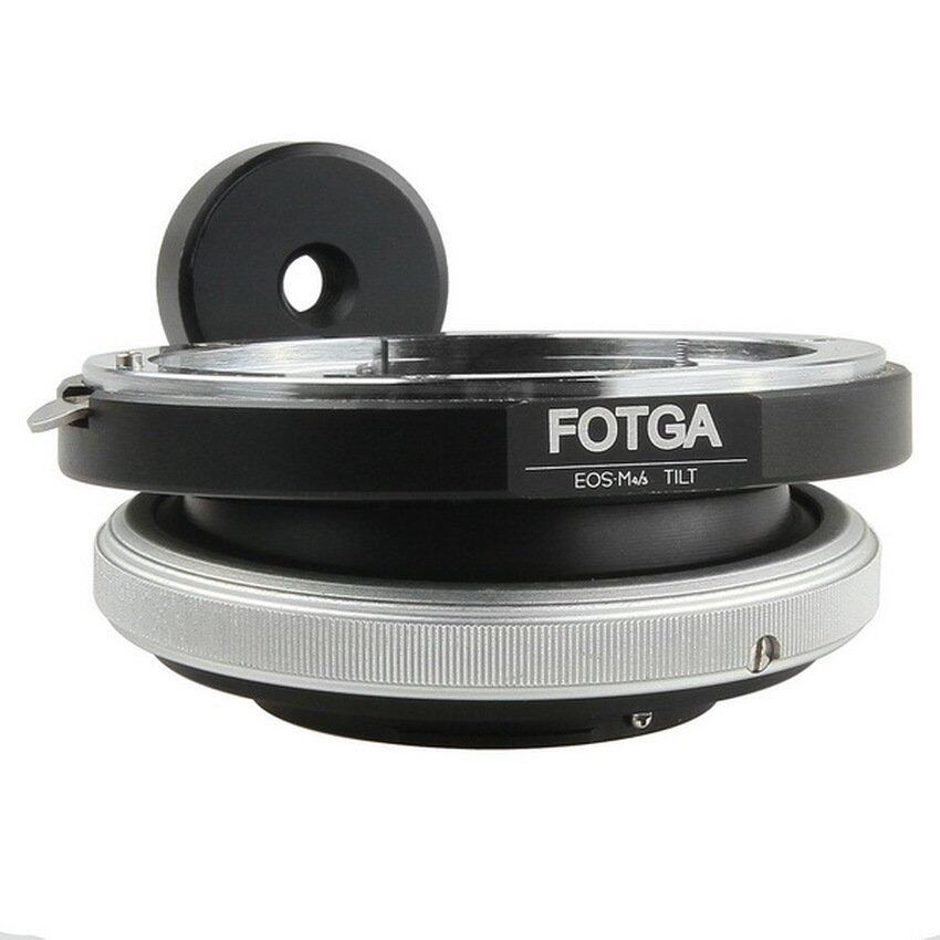 Fotga Tilt Adapter for Canon EOS EF EF-S Lens to Panasonic Olympus Micro 4/3 M4/3 Camera ...