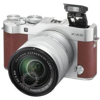 FUJI กล้องMIRRORLESS X-A3 หน้าจอ 3 นิ้ว สีน้ำตาล รุ่น X-A3 + 16-50mm Brown
