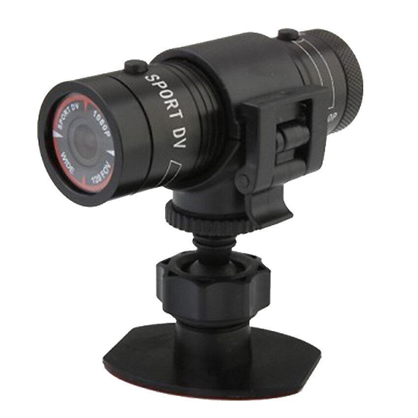 Full HD 1080P Mini Sport Helmet Camera DV Action DVR VideoCamcorder(Black) (Intl) - intl ...