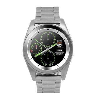 G6 Smart Watch MTK2502 Smartwatch Sport Bluetooth 4.0 Tracker (Silver) - intl