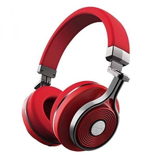 GPL/ Bluedio T3 (Turbine 3rd) Extra Bass Wireless Bluetooth 4.1 Stereo Headphones(Red)/ship from USA - intl
