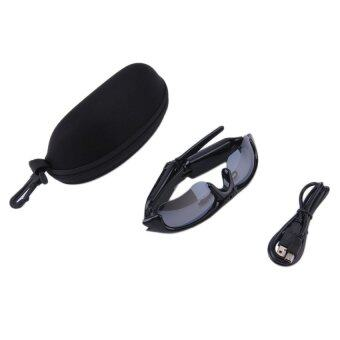 H& Y Allwin HD Video Recorfing Camera Sunglasses with VoiceRecording Eyewear Glasses (Black) - intl