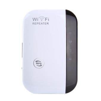 hazyasm 300Mbps Wifi Repeater Wireless-N AP Wifi Range Signal Extender Booster (US Plug)