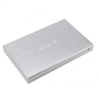 "HDD BOX 2.5"" รุ่นLX25 hdd usb2.0 (สีเงิน)"