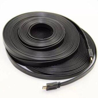2561 สายHDMI M/M 20 เมตร v1.4 แบบแบน (Black) (Black)