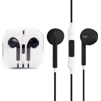 High Quality EarPods with Remote and Mic for iPhone 6 & 6 Plus, iPhone 5 & 5S & 5C, iPhone 4 & 4S, iPad / iPod touch, iPod Nano / Classic(Black)