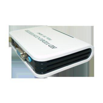 Hign performance VGA to HDMI Converter 1920x1080 white
