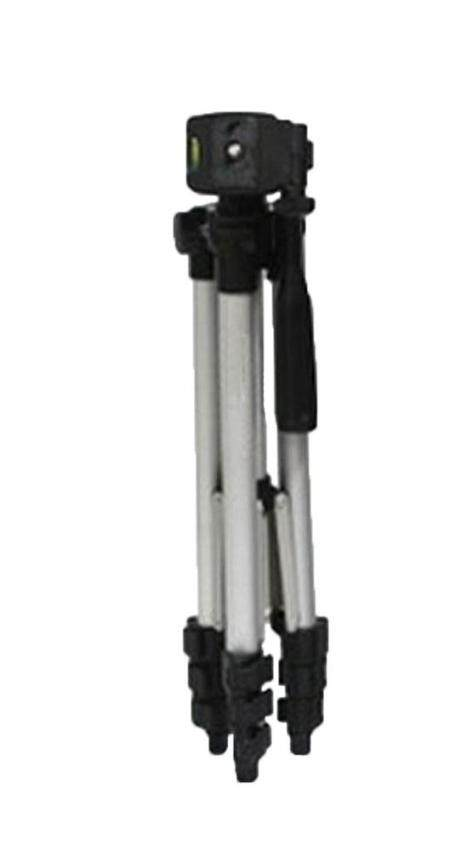 hogakeji Aluminum Adjustable Digital Camera Camcorder TriPod With Portable TriPod Bag (Silver)