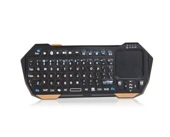 Hot Sale Newest Mini Portable Wireless 10m Remote Bluetooth Keyboard With Multi-Touch Pad Mouse - intl