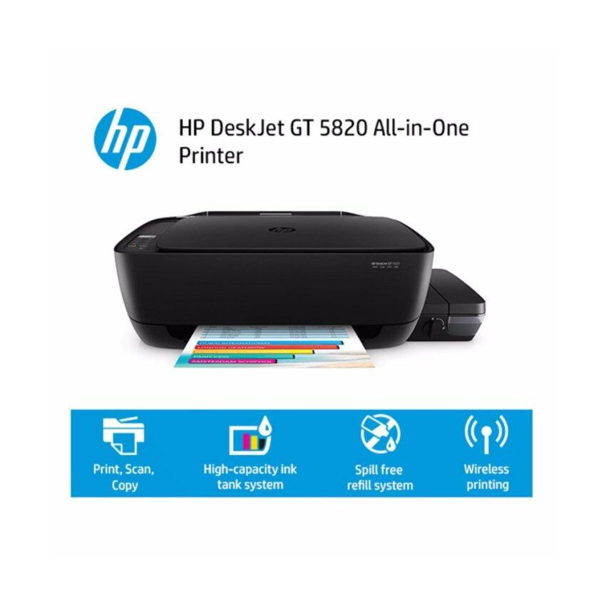 HP AIO Printer DeskJet Ink GT 5820 (Black)
