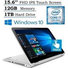 "HP Envy 15.6"" x360 2-in-1 Convertible Full HD IPS Touchscreen Laptop| Intel Core i7-7500U | 12GB RAM | 1TB HDD | Backlit Keyboard | Bluetooth | HDMI | B&O Play | Windows 10 (Silver) - intl"