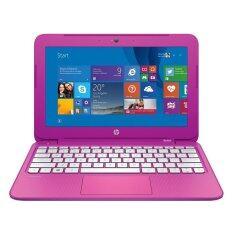 """HP Notebook Stream 11-d004TU K5C48PA#AKL N2840 2.16/2GB/32GB/Intel HD/11.6""""/Win 8.1 Bing (Pink)"""