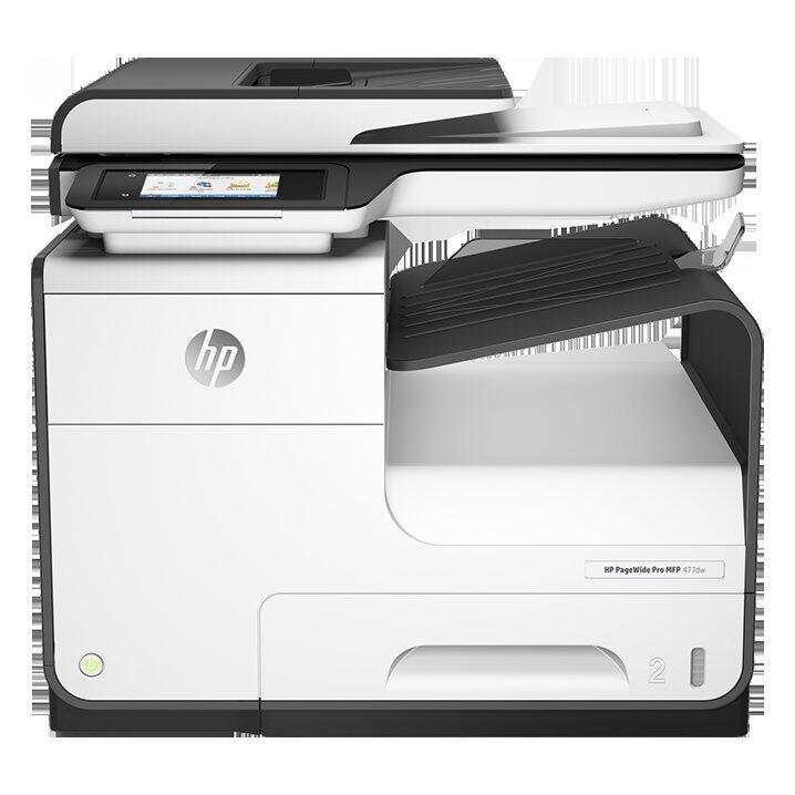 HP PageWide Pro 477dw Printer Scan Copy Fax Wi-fi