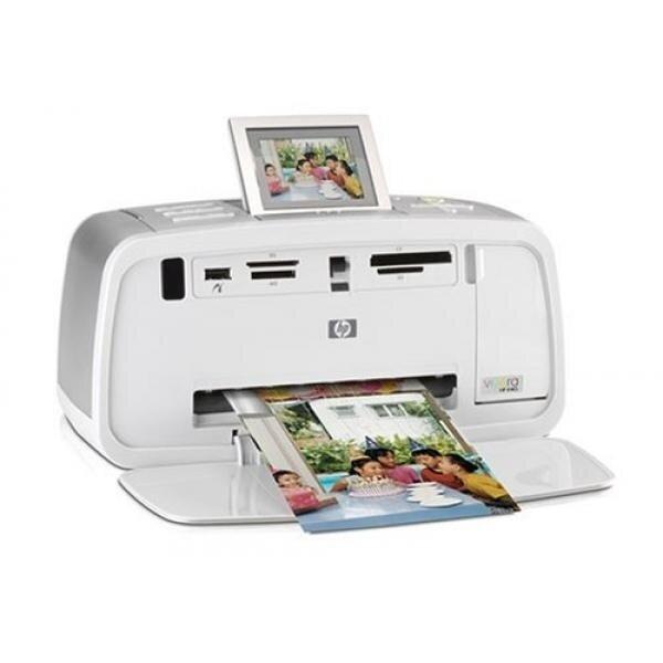 HP Photosmart 475 Compact Photo Printer (Q7011A#ABA) - intl image