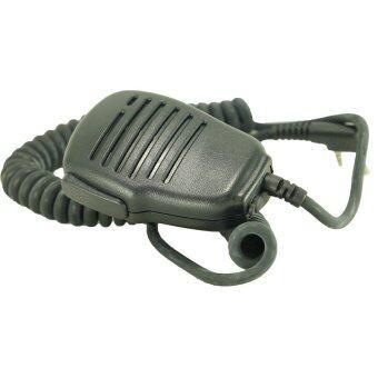 ไมค์หูฟังหัวโต วิทยุสื่อสาร ขั้ว HYT Motorola CP246 (สีดำ)