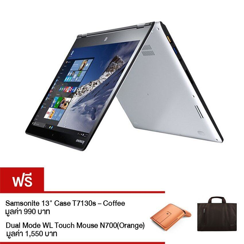 IdeaPad Yoga 900 (80MK00A5TA) /13.3 QHD+/I7-6500U 8G(1*8GBDDRIIIL1600)/512 GB/Windows 10 HOME/ Silve ...
