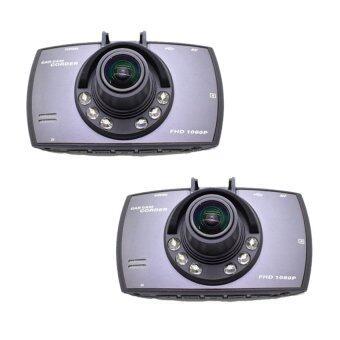 Camera good it FHD Car Cameras กล้องติดรถยนต์ รุ่น G30C แพ็คคู่ (Black)