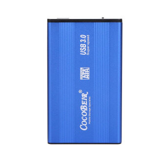 New USB 3.0 SATA 2.5 External Hard Drivers (Blue) - intl