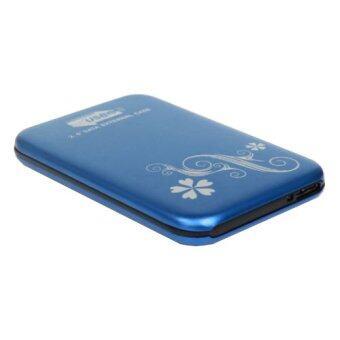 Fang Fang USB 3.0 HDD Hard Drive External Enclosure 2.5 Inch SATA HDD Case Box (Blue)