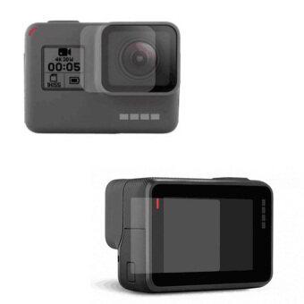 ไปปกป้องฟิล์มโปรสกรีนแก้วอารมณ์สำหรับ GoPro Hero 5 กล้องผู้สำเร็จราชการแผ่นดิน