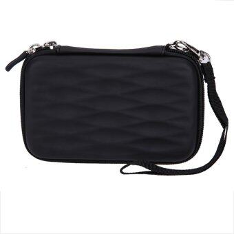 Hard EVA PU Carrying Case Bag for 2.5 inch Portable External Hard Drive - intl