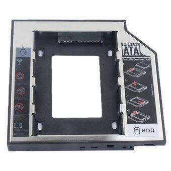 อุปกรณ์พ่วง ฮาทดิสภายนอกSecond HDD CADDY SATA 12.7mmแบบหนาสำหรับโน๊ตบุ๊ครุ่นเก่า(Black)