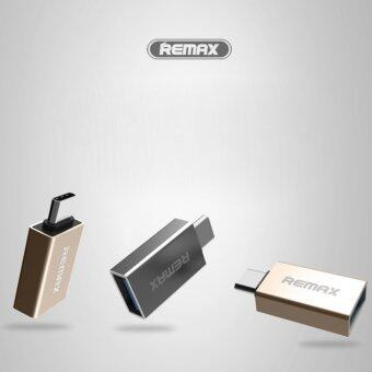 TIB REMAX OTG TYPE-C USB Adapter Mini Double-Sided Fast Charging Data Transmission With U-Disk Transfer Type C To USB 2.0/ 3.0 /3.1