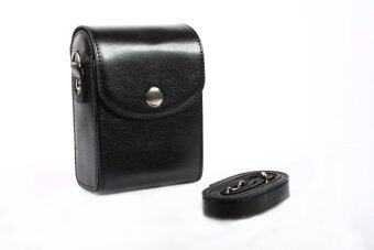 Universal Camera Leather Case For NIKON SONY CANON FUJIFILM OLYMPUS Black