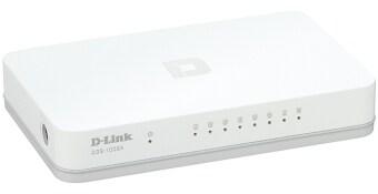 D-Link 8 Port Gigabit Switch 10/100/1000 (DGS-1008A) - White