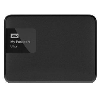 WD My Passport Ultra USB 3.0 Secure 1TB รุ่น WDBGPU0010BBK-PESN New Model (Black)