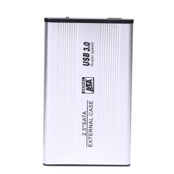 """USB 3.0 2.5"""" SATA Hard Drive External HDD Enclosure Case Durable Aluminum - intl"""